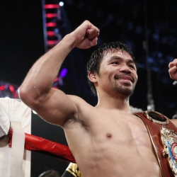 Pacquiao asks fans who they want to see him fight next