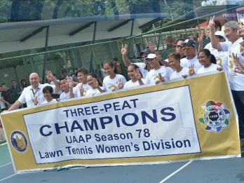 NU eyes another championship double in UAAP tennis