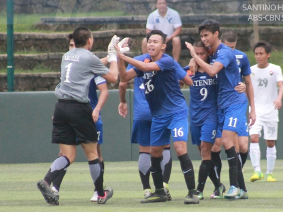 ADMU flies past UE for fifth straight win in men's football