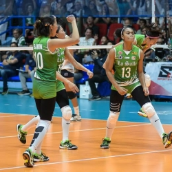 Lady Spikers halt Lady Bulldogs' win streak