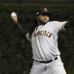 Giants' Cueto still in Dominican Republic with ailing father