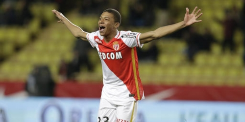Monaco teen star Mbappe doing better than Henry at same age