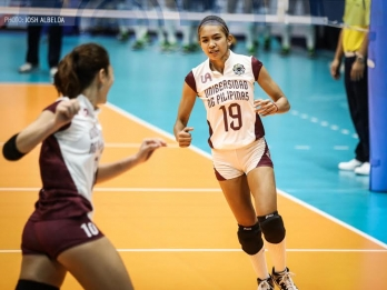 UAAP Volleyball PoW: UP's Nicole Tiamzon