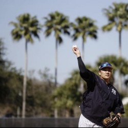 Tanaka prepares for Tuesday start with simulated game