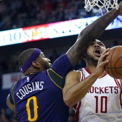 Rockets rout Pelicans in Cousins' New Orleans debut