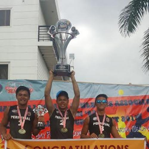 Altas bag NCAA men's beach volleyball crown