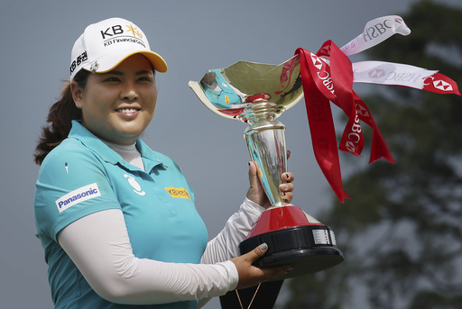 Inbee Park wins LPGA Singapore by 1 stroke with closing 64