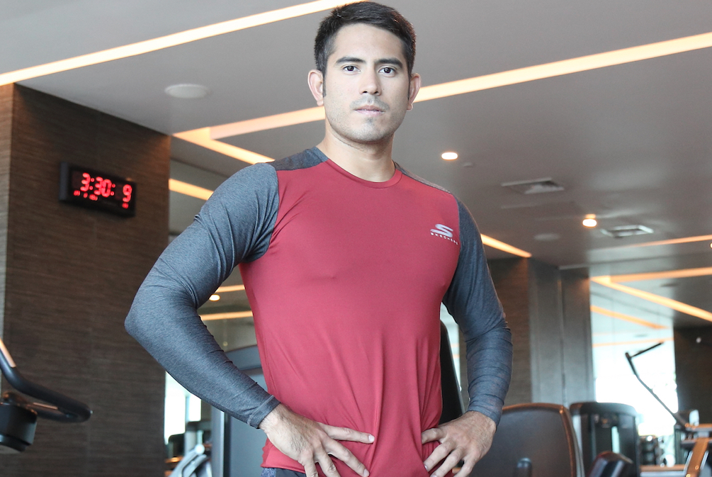 Gerald Anderson on getting real ripped for the LA Marathon