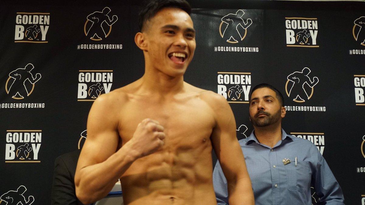21-year old Davaeño boxer to make US debut