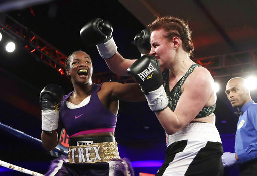Claressa Shields win fight in 4th round of milestone night