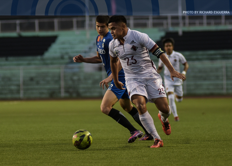 Ateneo comes from behind to draw UP in men's football