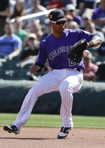 Rockies 1B Desmond, Indians 2B Kipnis sidelined by injuries