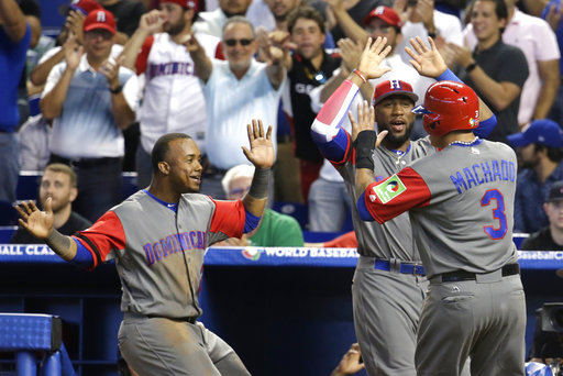 Dominican Republic beats Colombia 10-3 in 11 innings in WBC