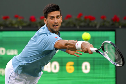 Past champs Djokovic, Federer, Nadal win at Indian Wells