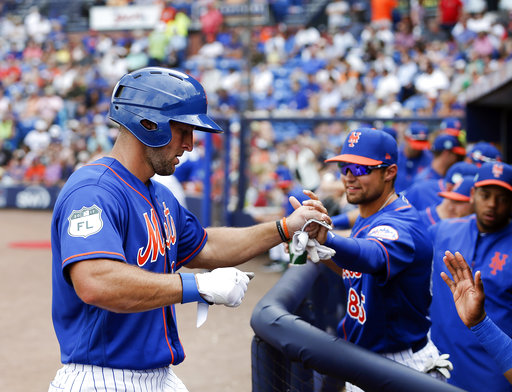 Tim Tebow gets 1st hit for Mets, singles vs Marlins