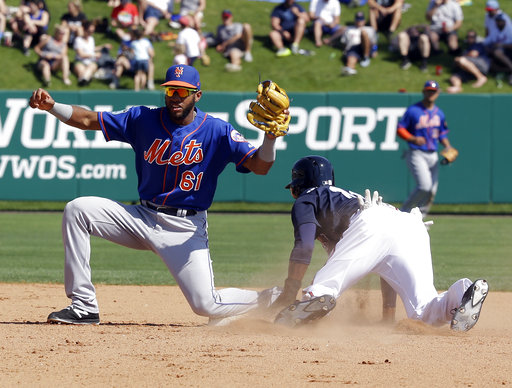Rookie shortstop Amed Rosario rising fast in Mets' future