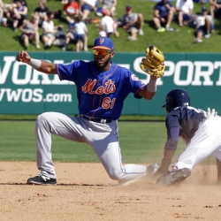 Rookie shortstop Amed Rosario rising fast in Mets' future