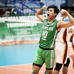 NCAA MVP De Guzman leads national men's team roster
