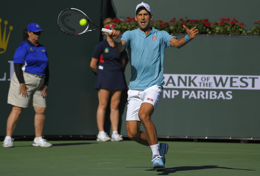Djokovic's 19-match win streak ends at Indian Wells