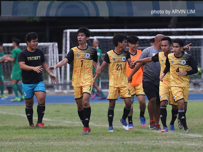 UST regains fourth seed with win over UE in men's football