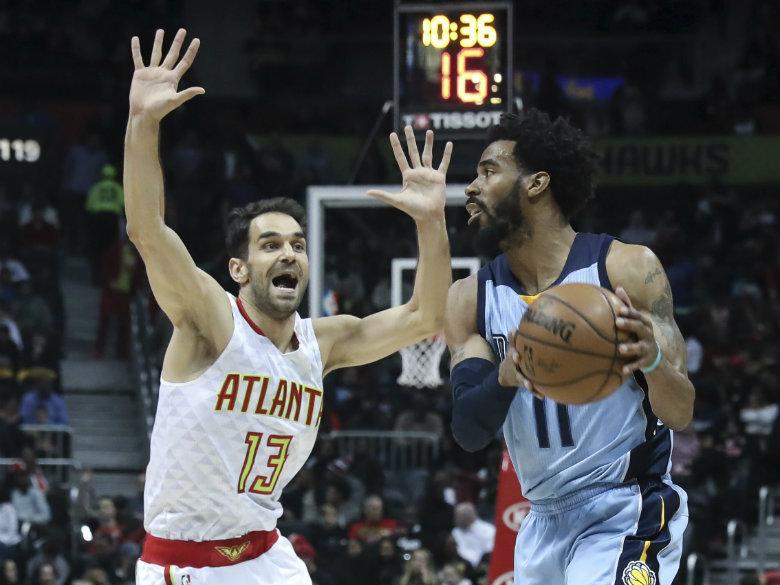 Resurgent Grizzlies top Hawks 103-91