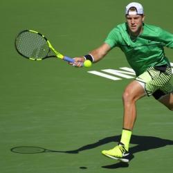 Sock beats Nishikori to gain Indian Wells semifinals