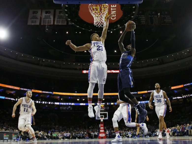 76ers rout Mavericks in Noel's return to Philadelphia