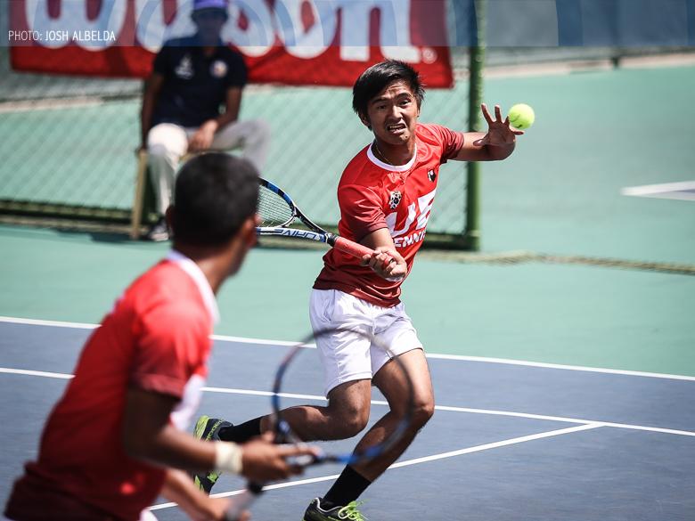UAAP Season 79 lawn tennis: UE nears men's crown