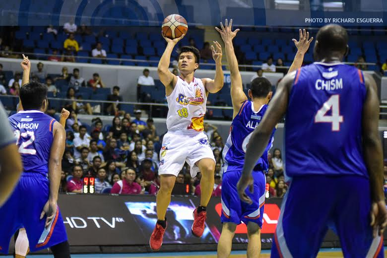 Healthy James Yap turns back the clock with champion ROS
