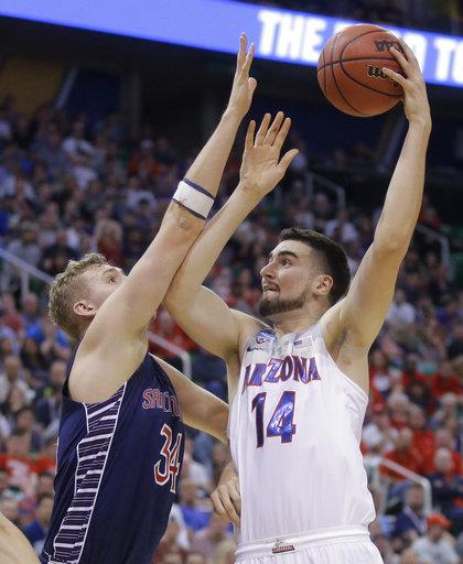 Markkanen, Trier lead Arizona to 69-60 win over Saint Mary's