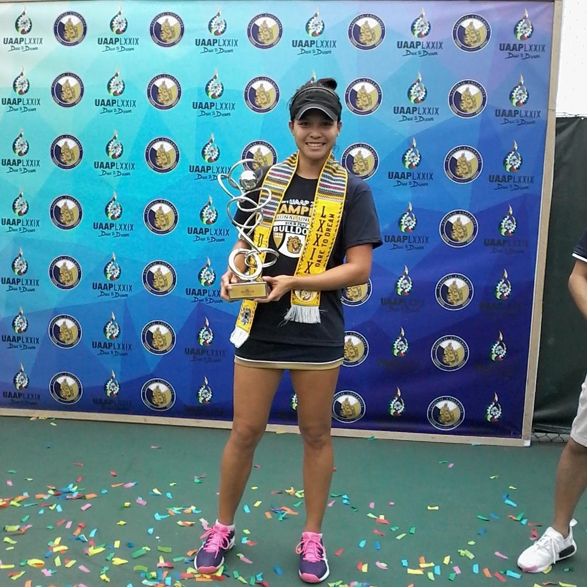 Lady Bulldogs complete 4-peat in UAAP women's tennis