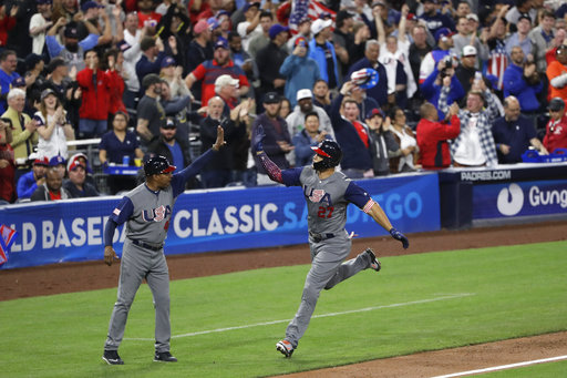 Stanton's homer, Jones' leap carry US into WBC semifinals