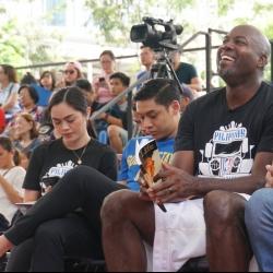 Caidic reunites with Glen Rice for Filipino Heritage Week