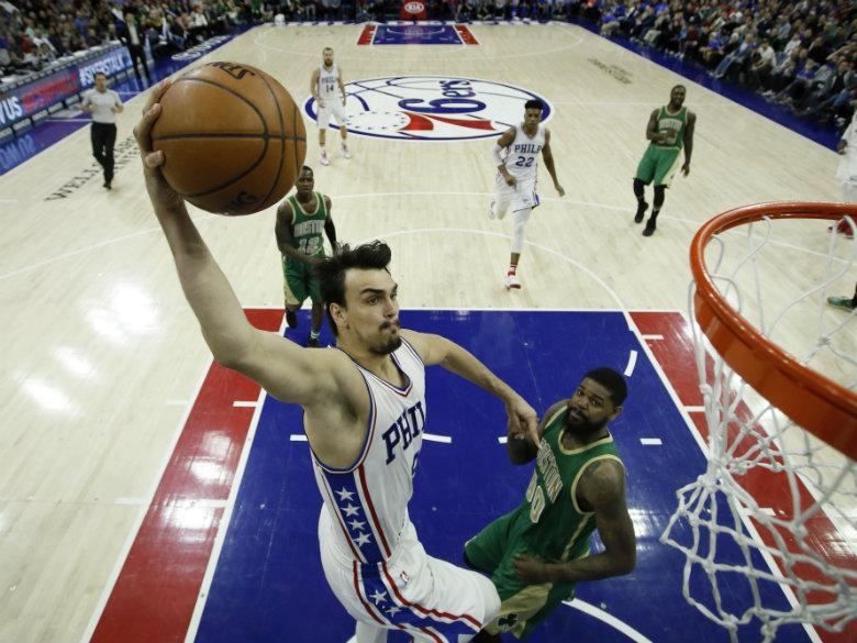 Philadelphia rallies from 13 down to beat Celtics 105-99