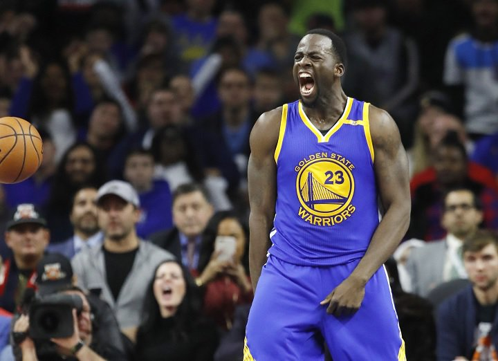 Draymond Green plays many positions, even hotel concierge