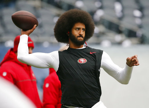 Spike Lee calls lack of suitors for Colin Kaepernick 'fishy'