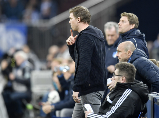 Bundesliga's youngest coach honored as league's best in 2016