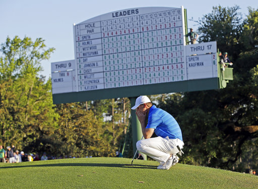 Spieth looking forward to get through this Masters