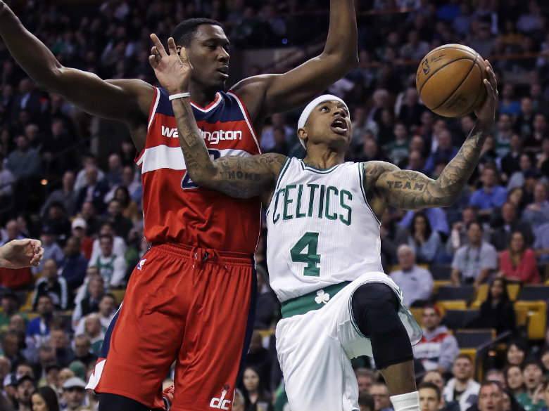 Back from injury, Thomas scores 25 as Celtics top Wizards