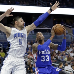 Magic storm back to beat 76ers 112-109 in OT