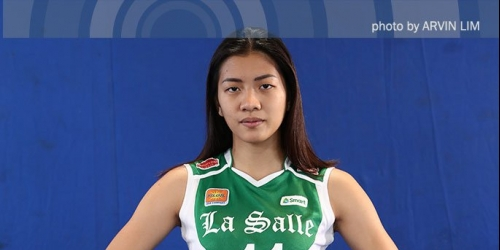DLSU star Kim Dy's pure love for volleyball keeps her going