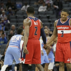Career years for Wall, Beal has calm Wizards on the rise