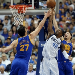 Warriors get 28th road win with 112-87 rout of Mavs