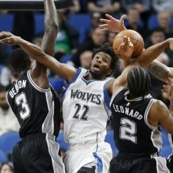 Leonard, Aldridge help Spurs outlast Timberwolves
