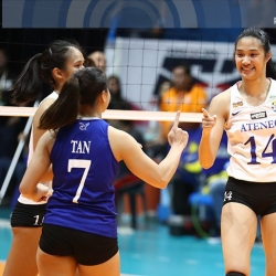 Lady Eagles getting a 'reward' after loss to NU