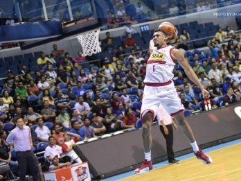 Everything is good for Tony Mitchell in the PBA except for..
