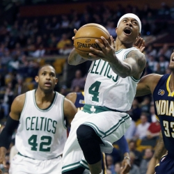 Thomas scores 25, Celtics stay hot at home with 109-100 win