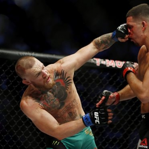 MMA star McGregor's fine for Vegas pre-bout fracas reduced