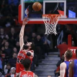 Mirotic scores season-high 28, Bulls beat Pistons 117-95