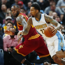 Chandler leads Nuggets past Cavs 126-113